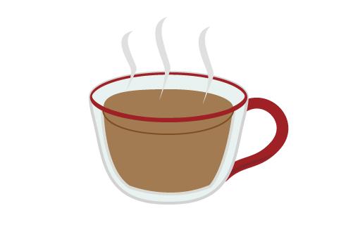 ベトナムコーヒーのできあがり。